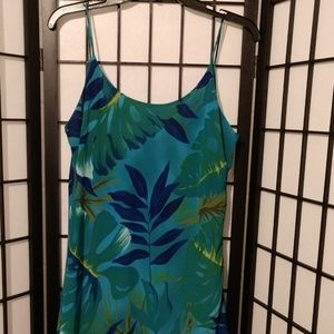 Gorgeous Turquoise Summer Dress sz 12